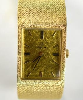 Omega 14k Gold Watch