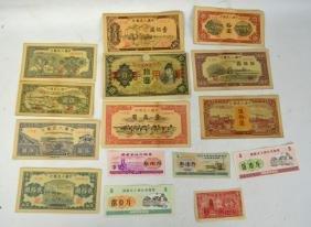 15 Pcs Paper Bills And Food Stamps