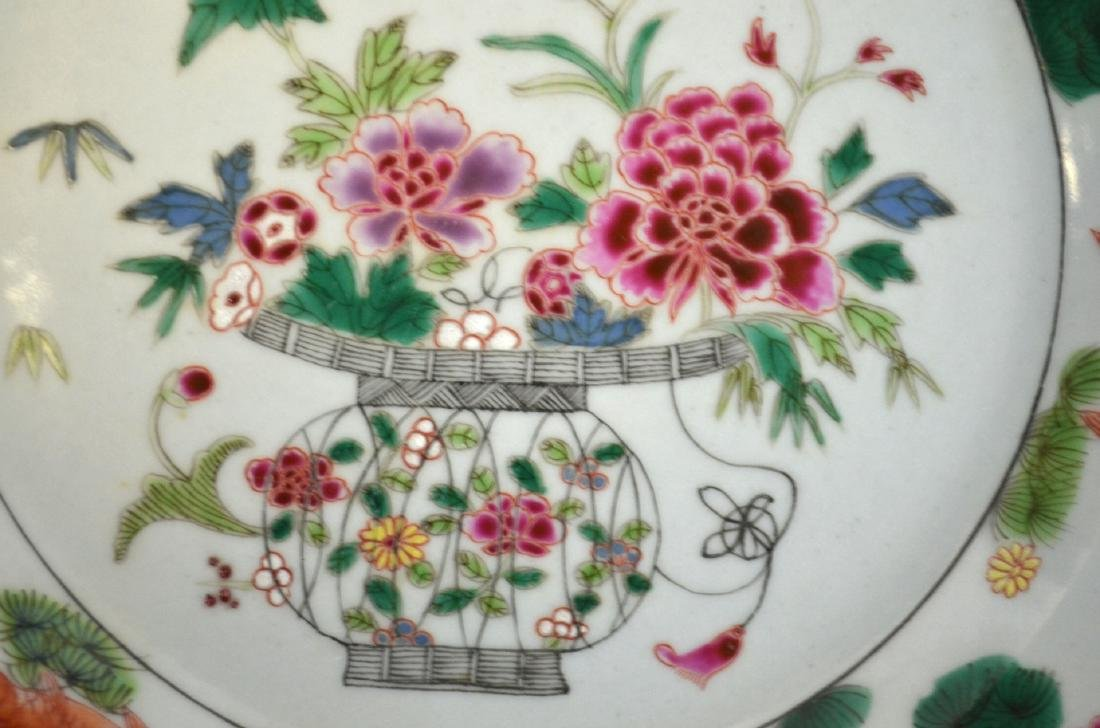 Pr Chinese Famille Rose Plates - 3