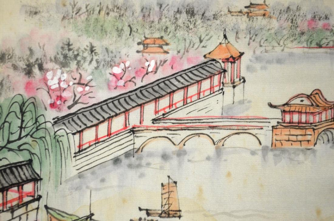 Two Chinese Watercolor Painting - 3