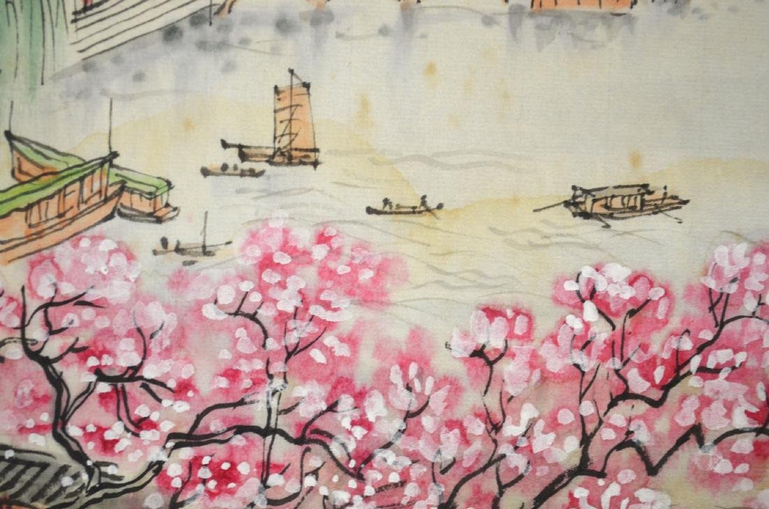 Two Chinese Watercolor Painting - 4
