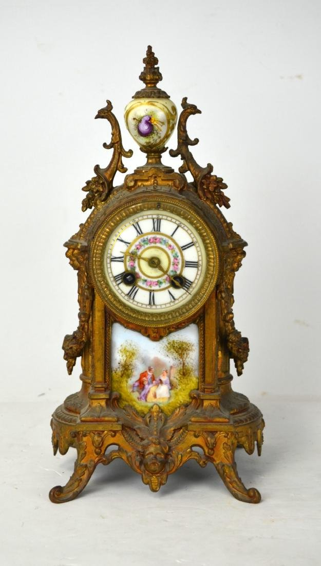Sevre Bronze Clock