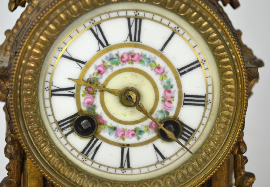 Sevre Bronze Clock - 3