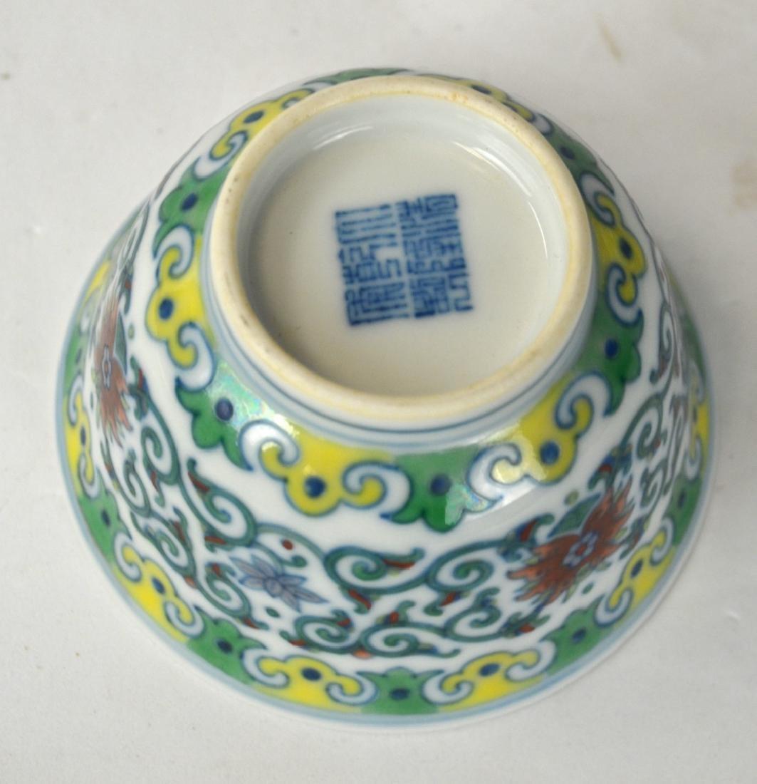 Pr Chinese Doucai Glazed Bowls - 4