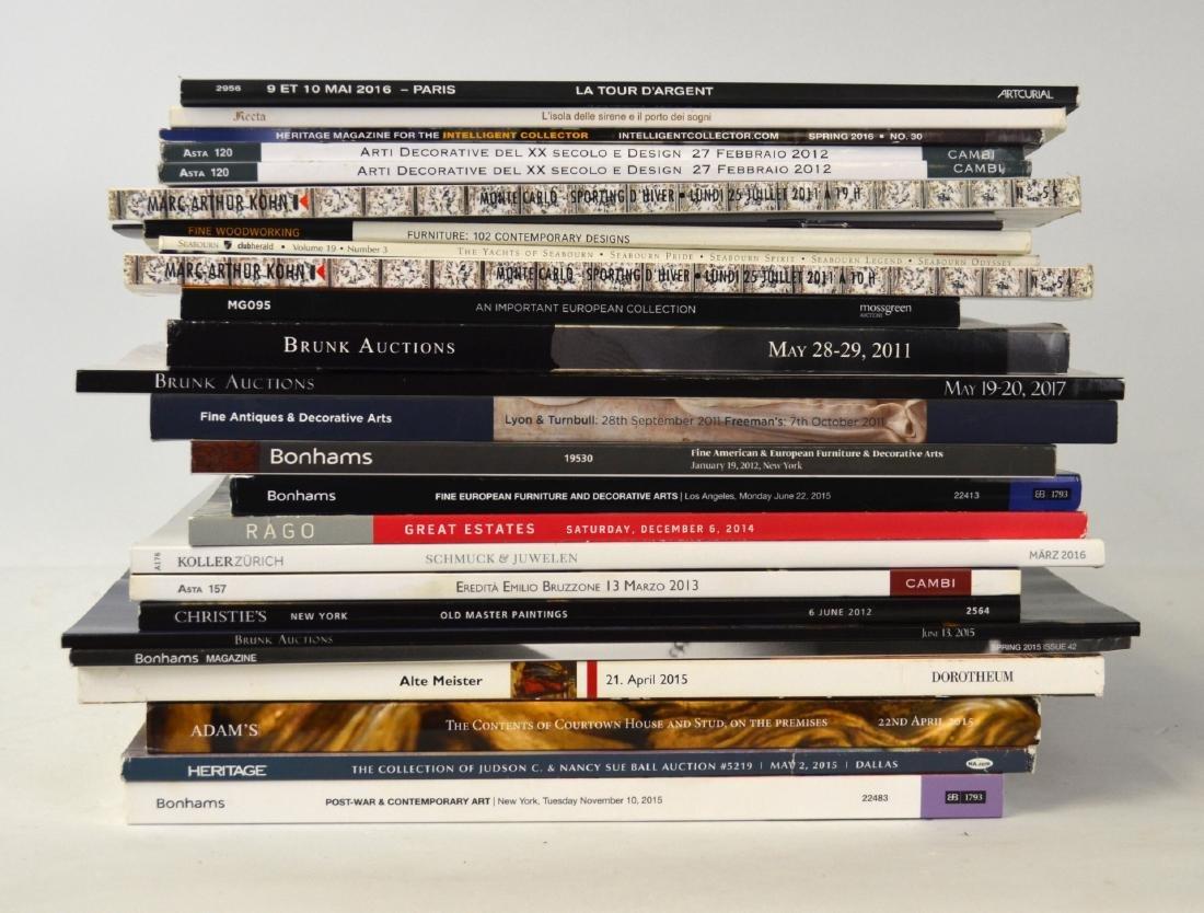 Group Auction Catalogs