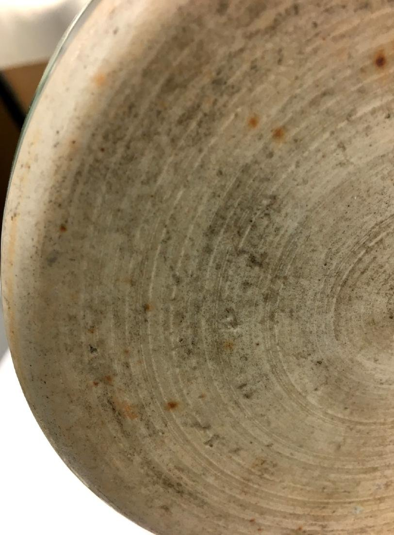 Chinese Famille Verte Cylinder Porcelain Vase - 9