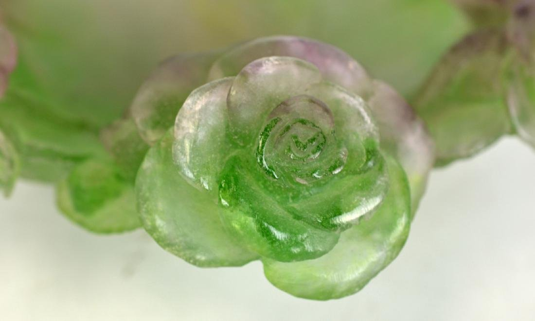 Daum Nancy Style Centerpiece w Roses - 3