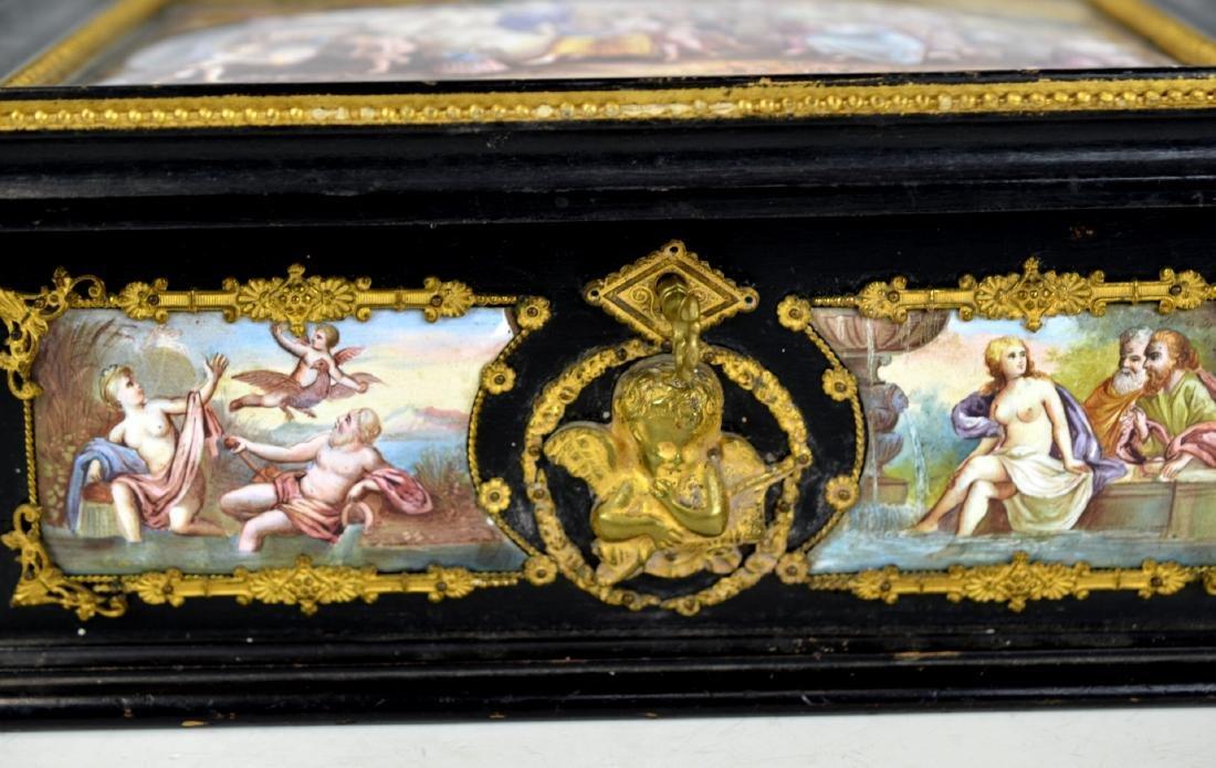 Vienna  Enamel Wood Box - 3