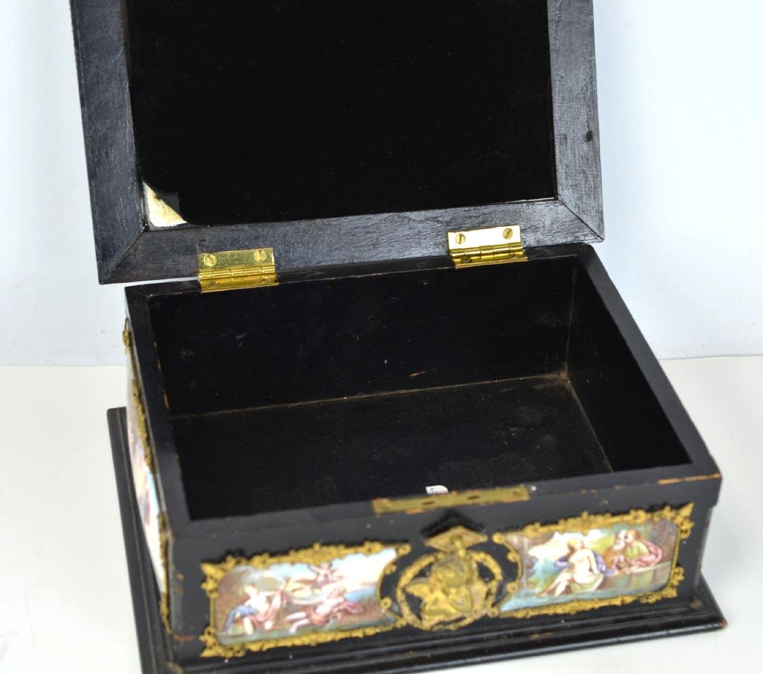 Vienna  Enamel Wood Box - 7