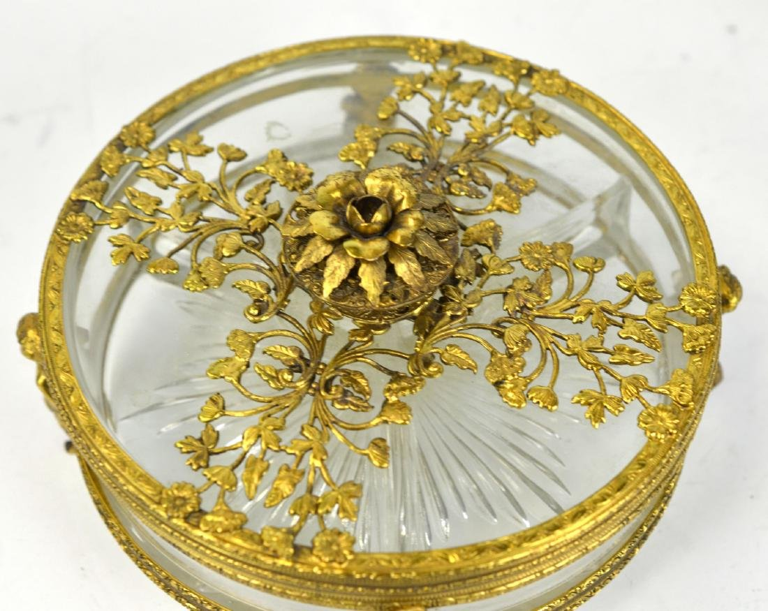Three Pcs of Bronze & Glass Objects - 2