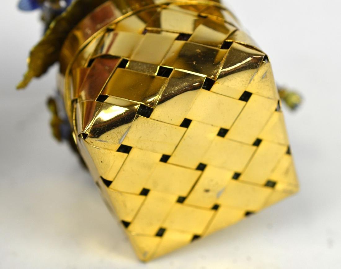 Cartier Gold Wash Blueberry Basket - 6