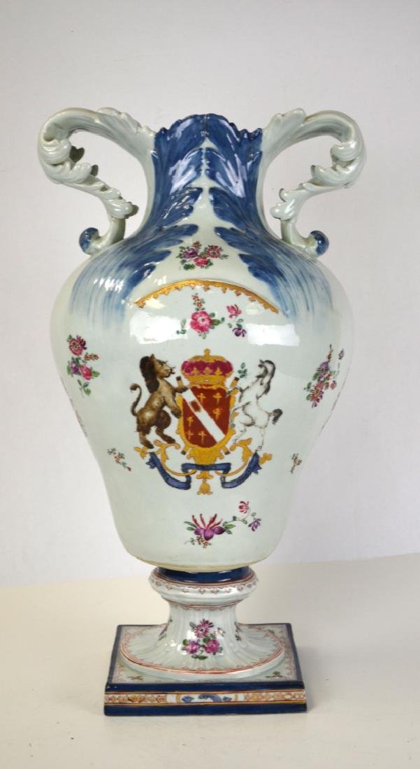 English Large Porcelain Urn