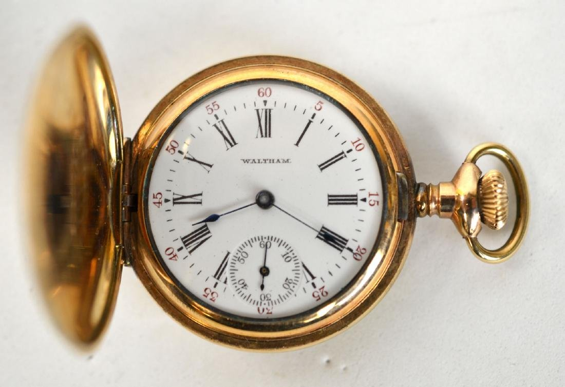 10K Gold Waltham Pocket Watch