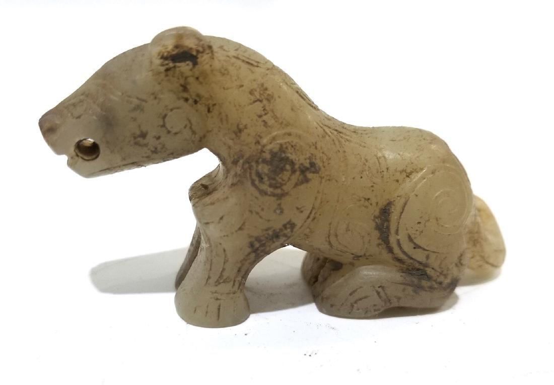 Chinese Archaic Jade Figure of Animal