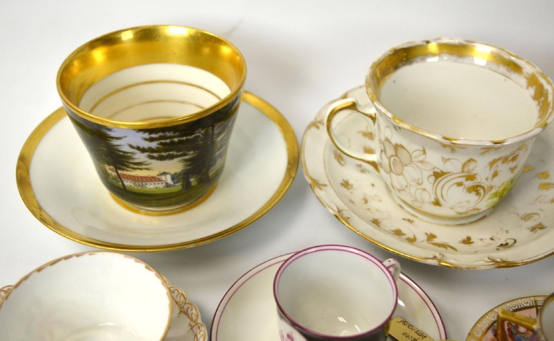 18/19th C. 39 Pcs of Porcelain Cups & Saucers - 2