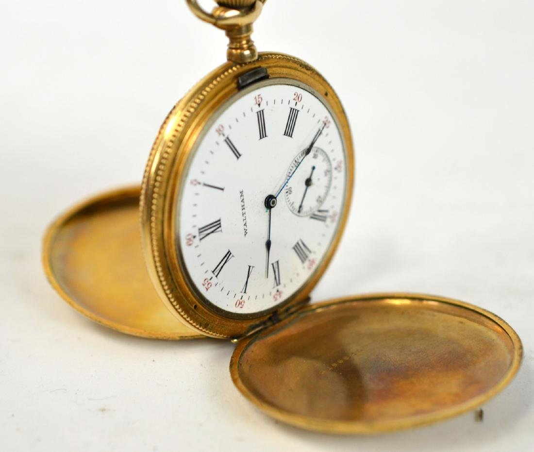 Two Gold Plated Pocket Watches - 4