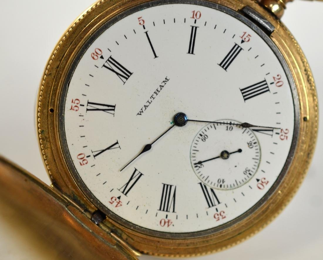 Two Gold Plated Pocket Watches - 5