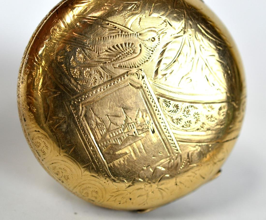 Two Gold Plated Pocket Watches - 7