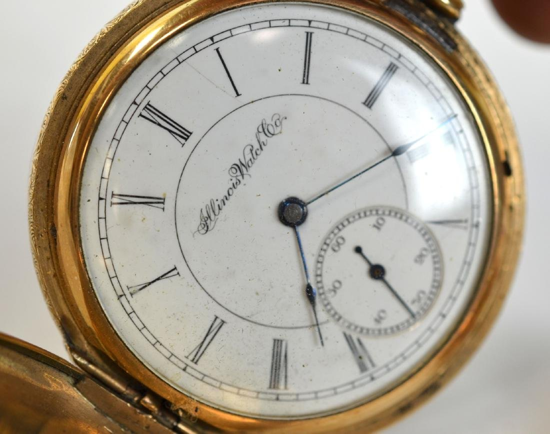Two Gold Plated Pocket Watches - 9