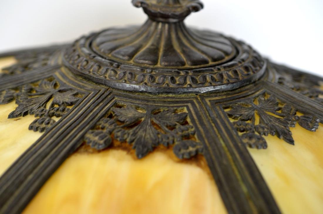 Slag Glass Table Lamp - 2
