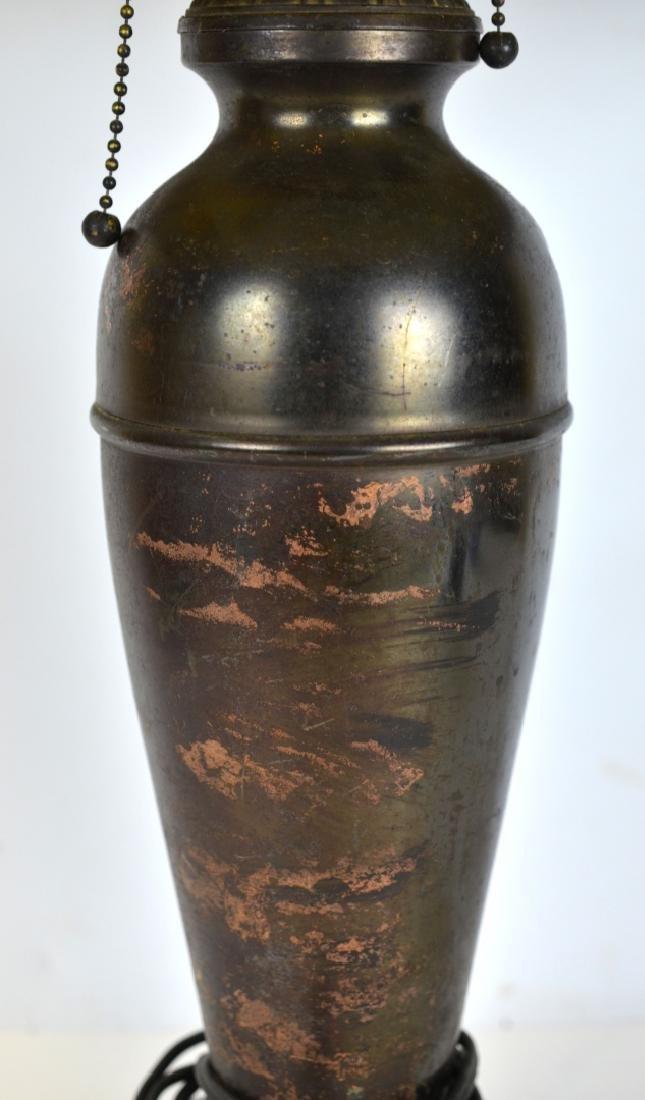 Slag Glass Table Lamp - 4