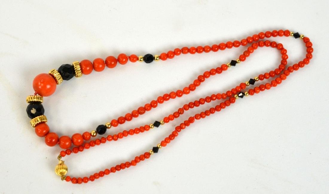 Two Coral Necklaces - 2