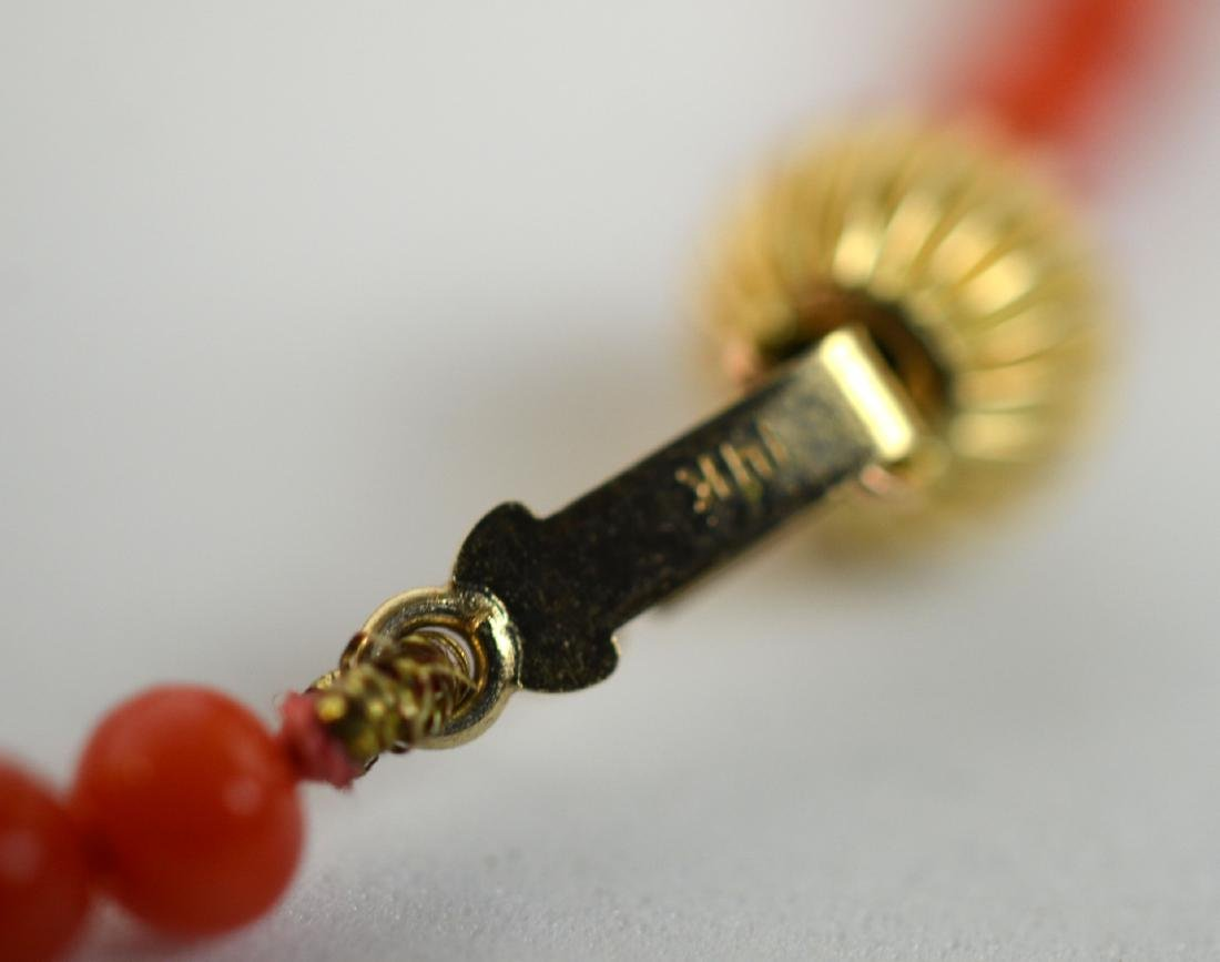 Two Coral Necklaces - 5