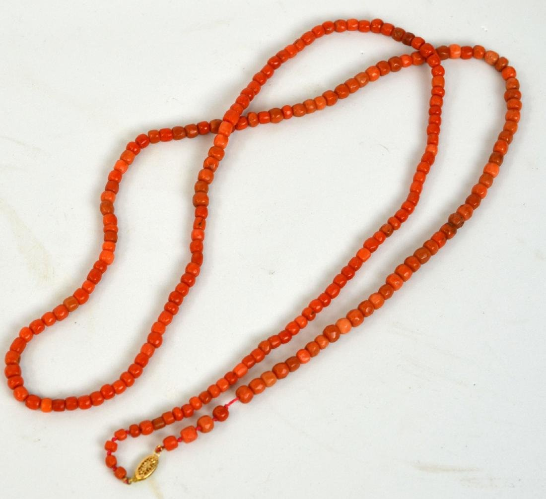 Two Coral Necklaces - 6
