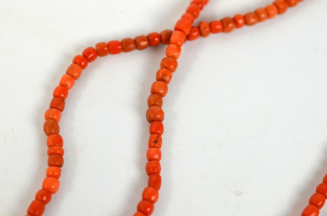 Two Coral Necklaces - 7