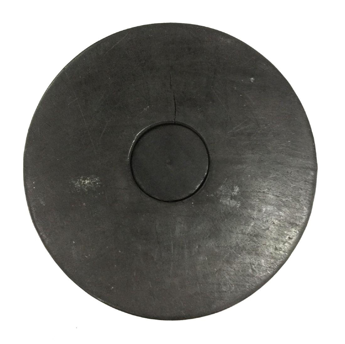 Chinese Zitan Wood Brush Pot - 4