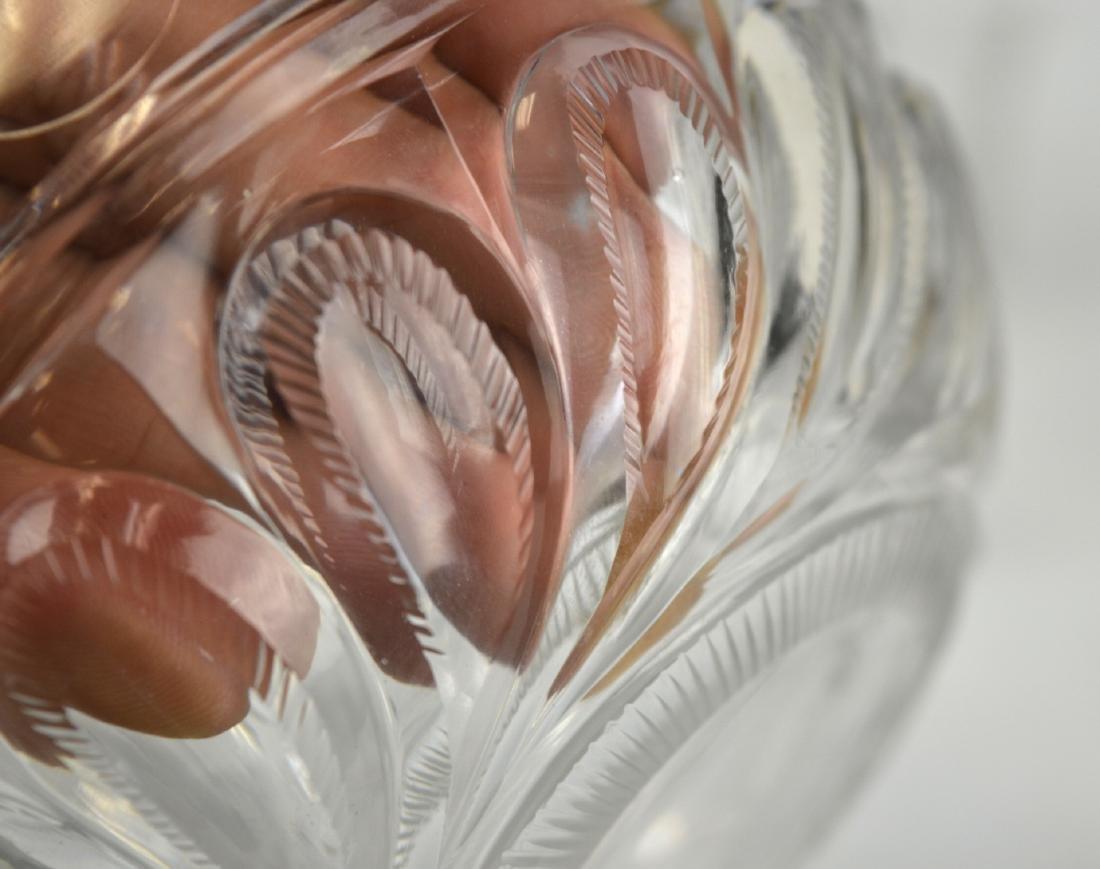 Set of Ten English Cut Crystal Pieces - 4