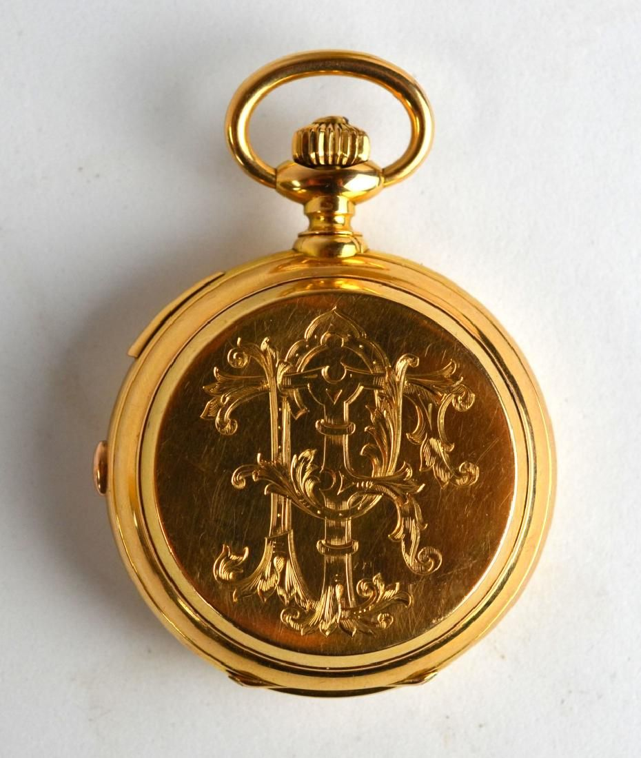 18K Gold Pocket Watch