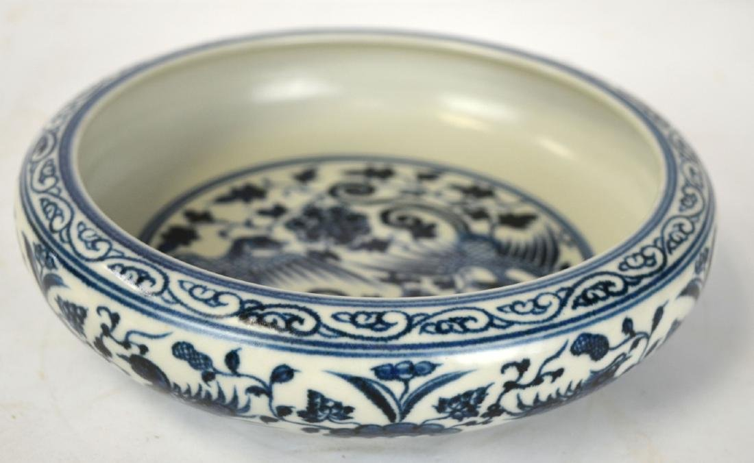 Chinese Blue and White Plate/ Dish