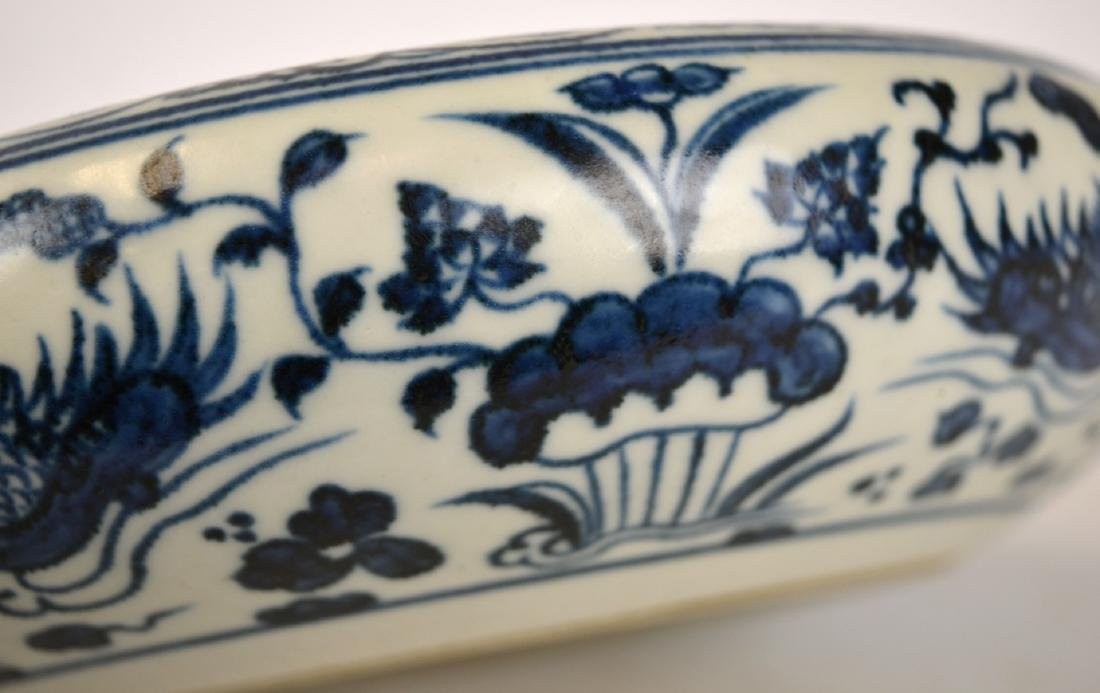 Chinese Blue and White Plate/ Dish - 4