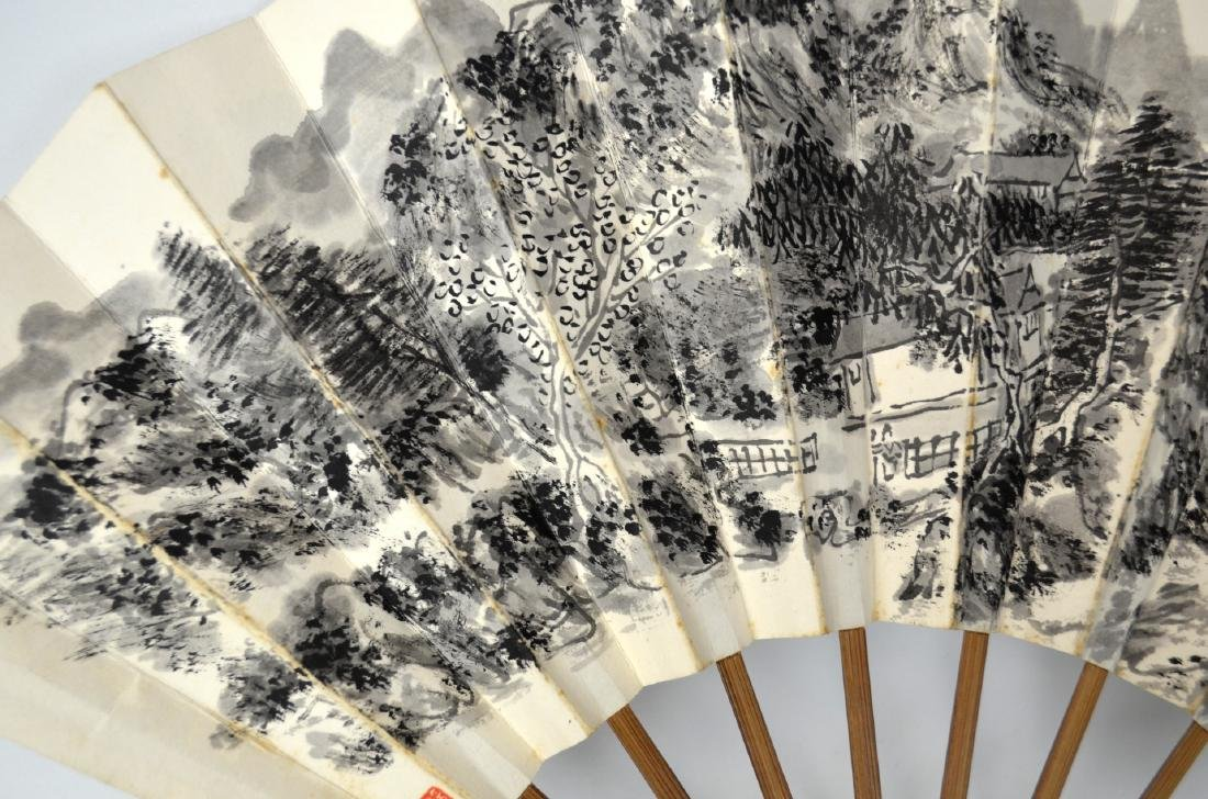 Chinese Paper Fan - 2