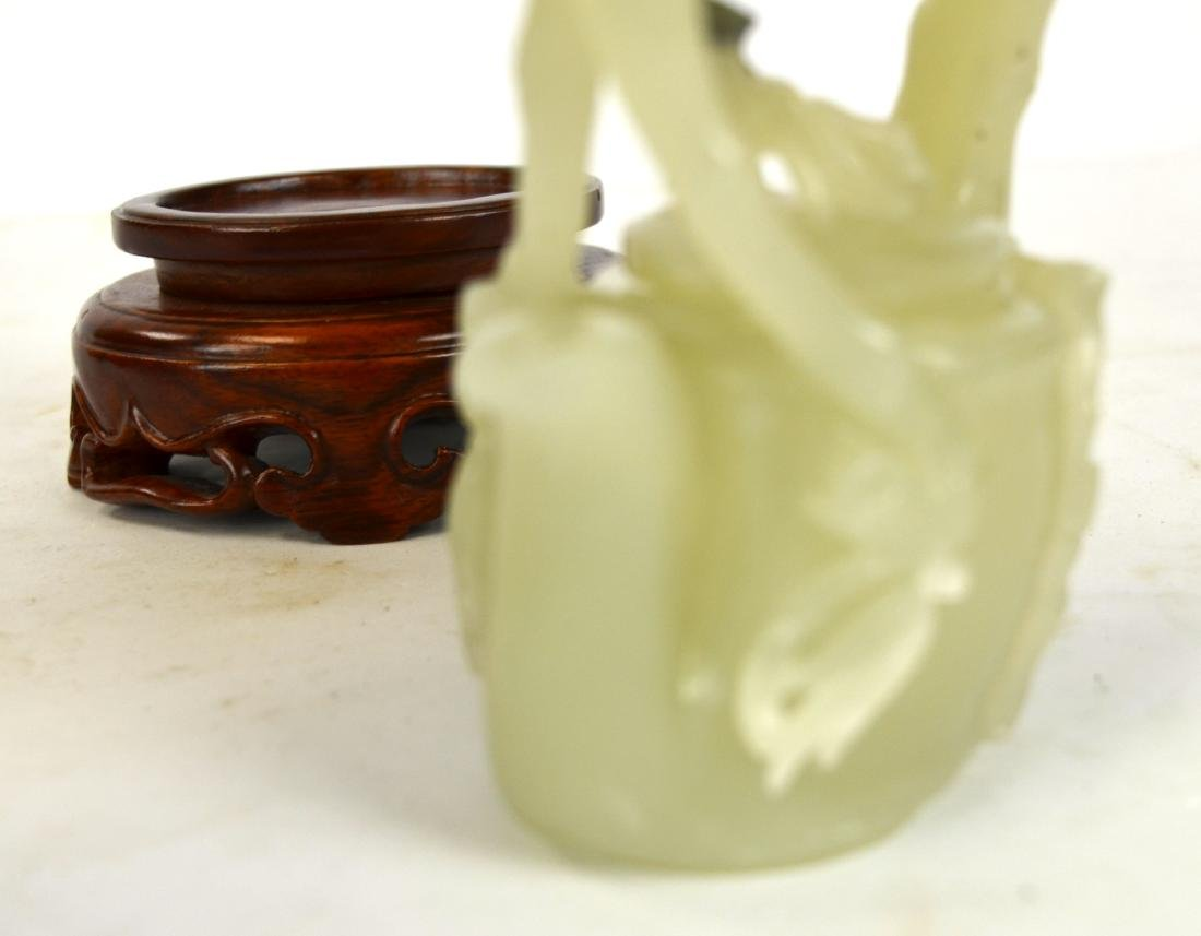 Chinese Carved Chinese Jade Teapot - 3