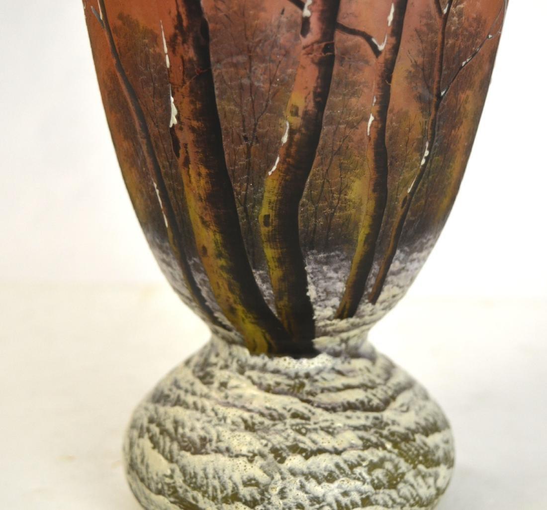 Daum Nancy Art Glass Vase - 3