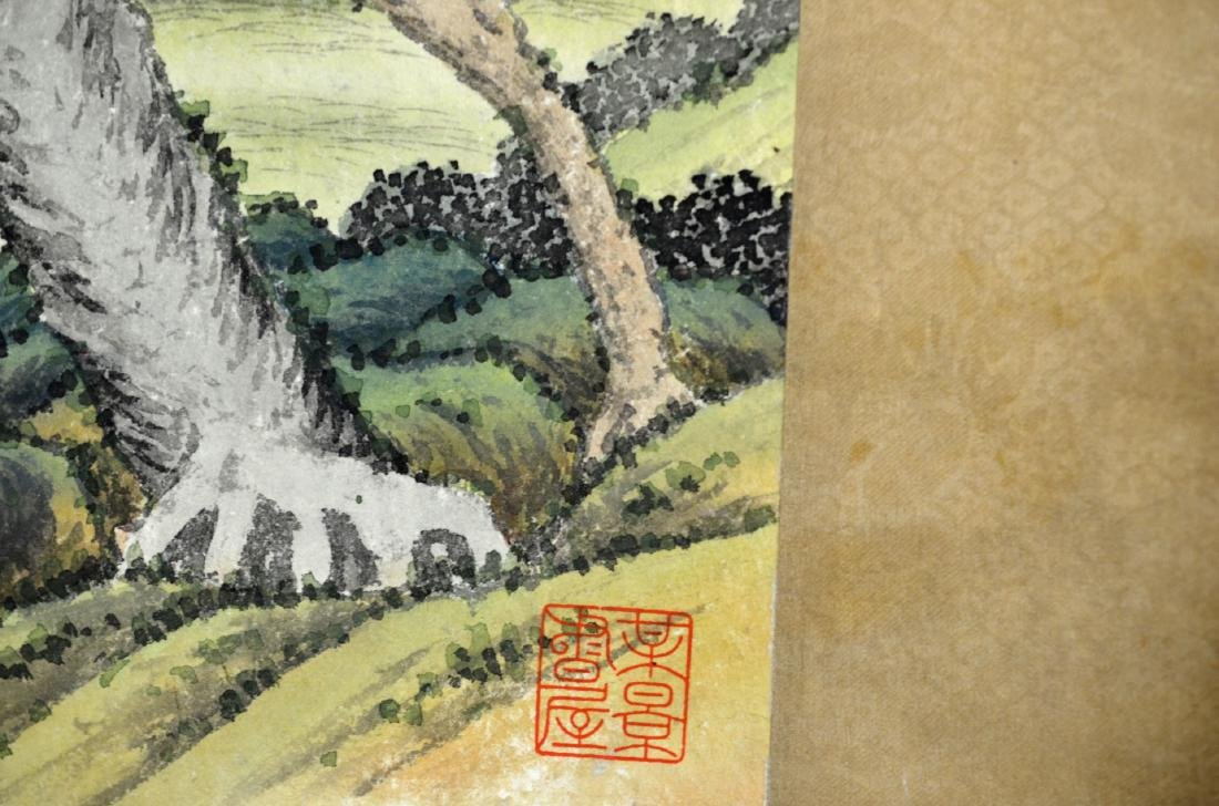 Chinese Painting Scroll (Horses) - 3