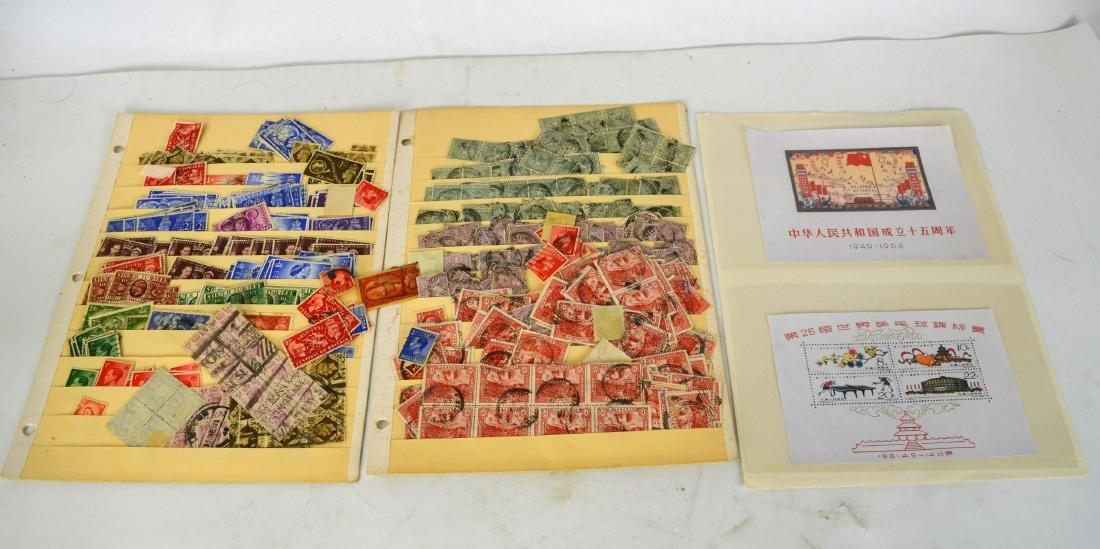 Three Panel Stamp Groups