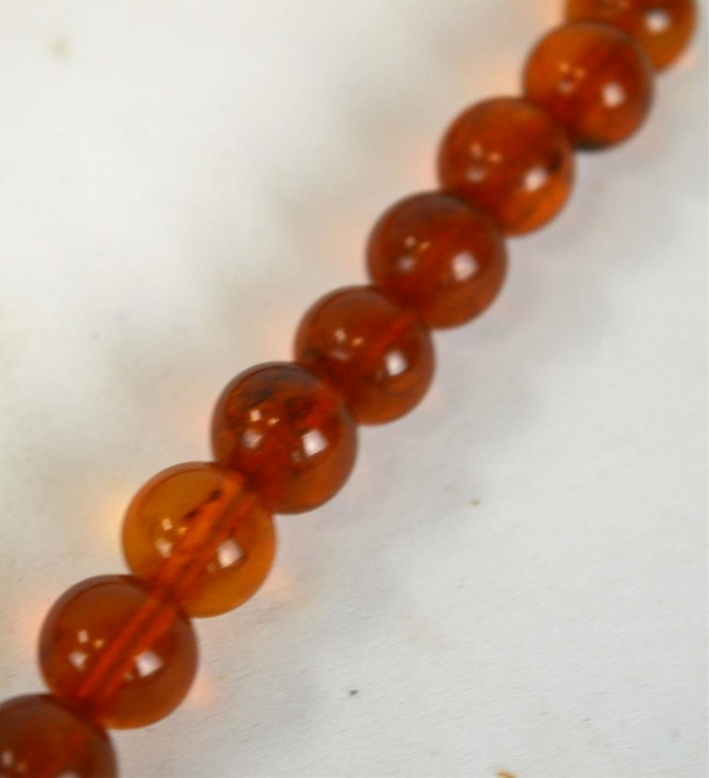 Amber Beads Necklace - 3