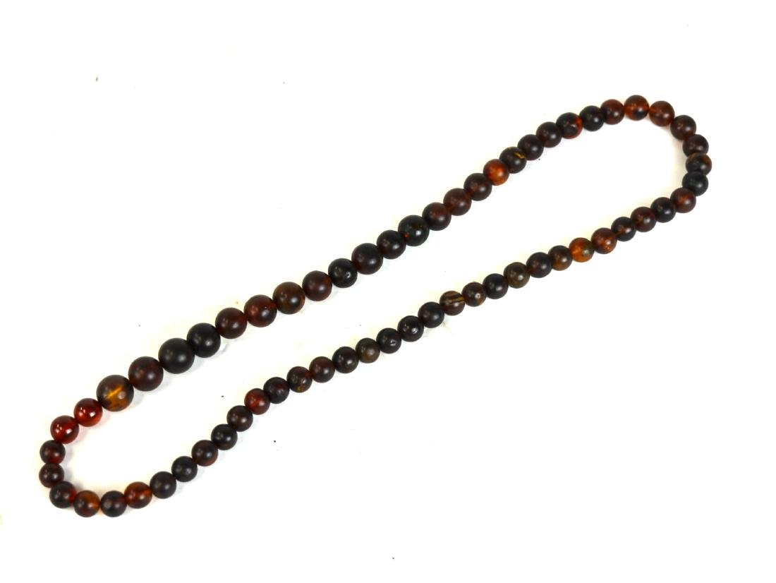 Amber Beads Necklace