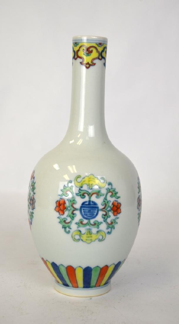 Chinese Doucai Glazed Vase