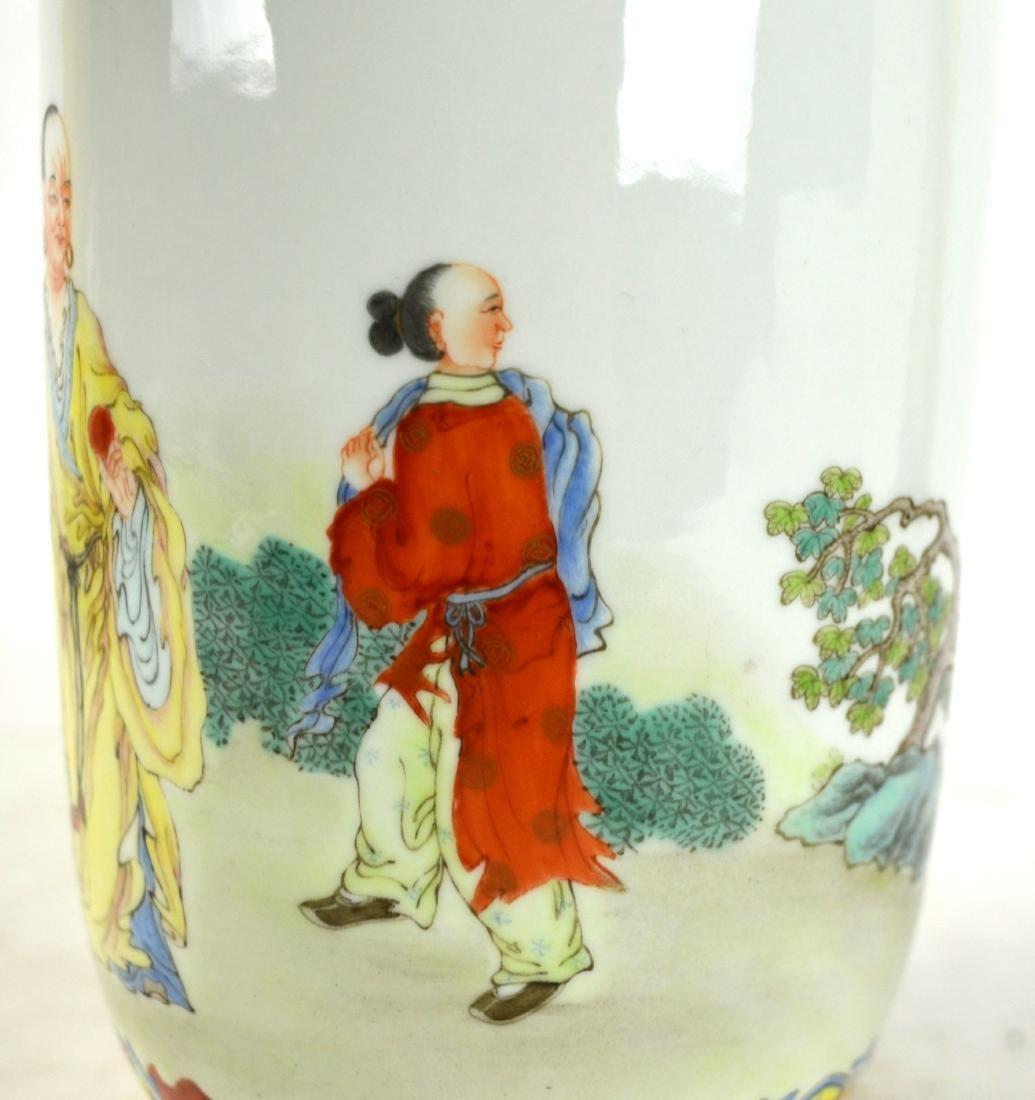 Chinese Famille Rose Vase - 3