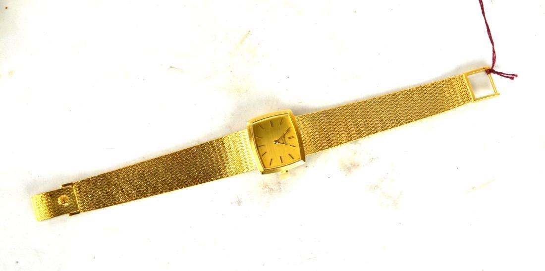 18K Gold Patek Philippe Wrist Watch