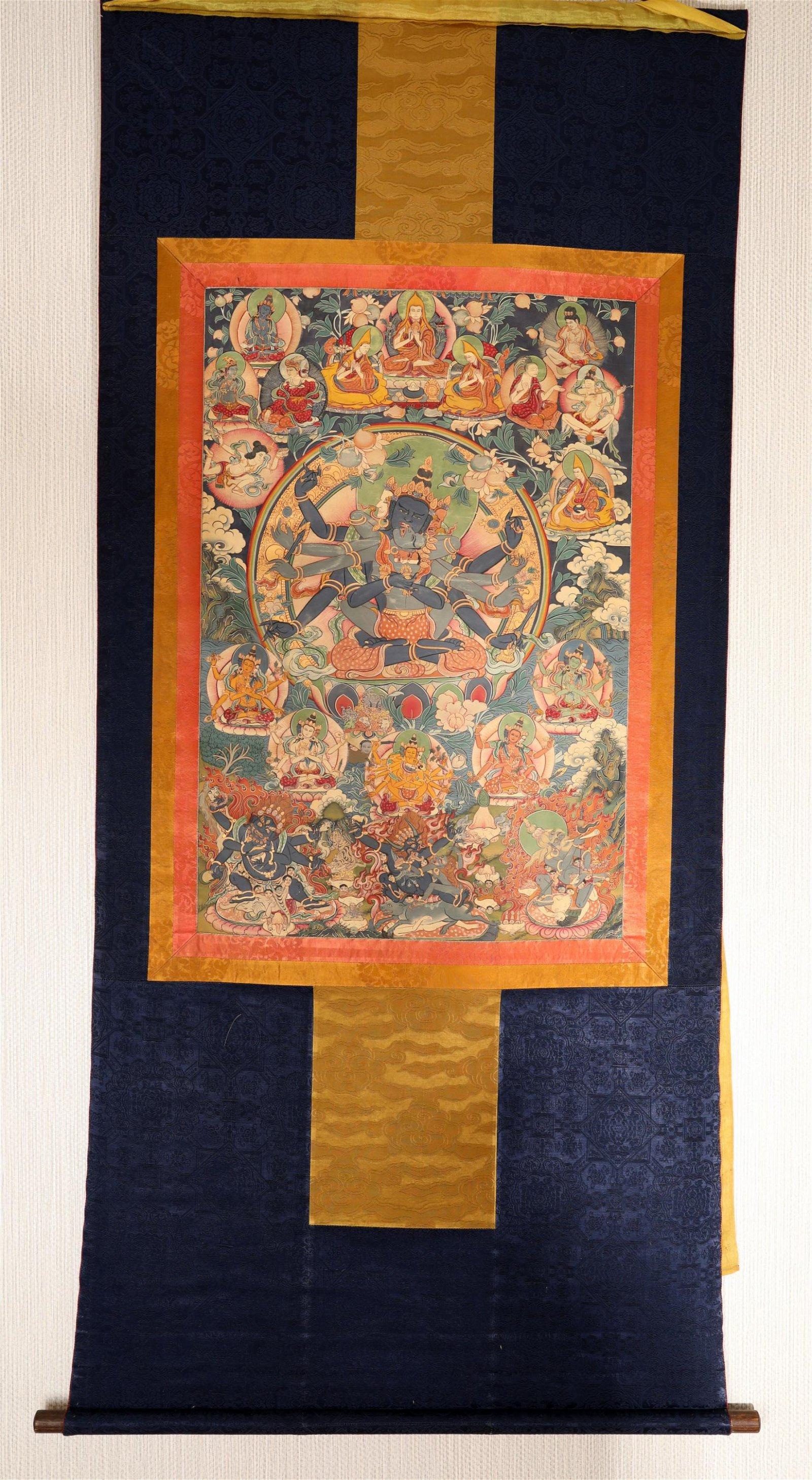 Chinese-Tibetan Thangka