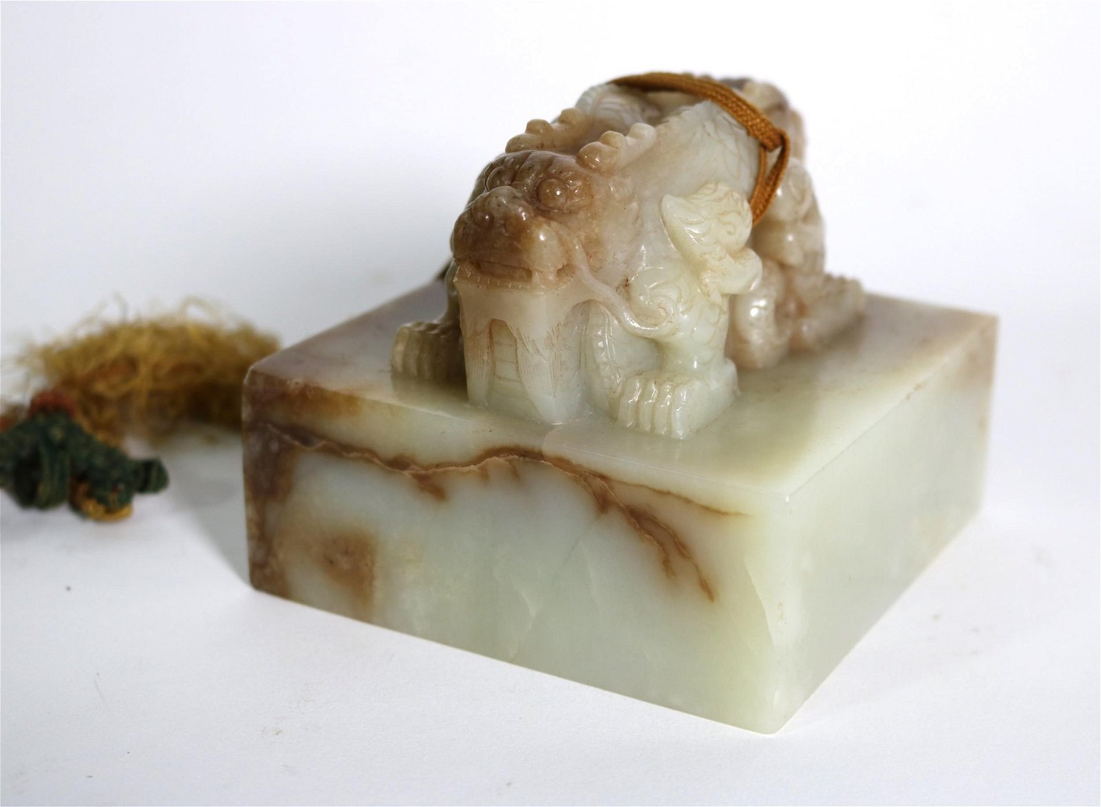 Chinese Carved Jade Seal