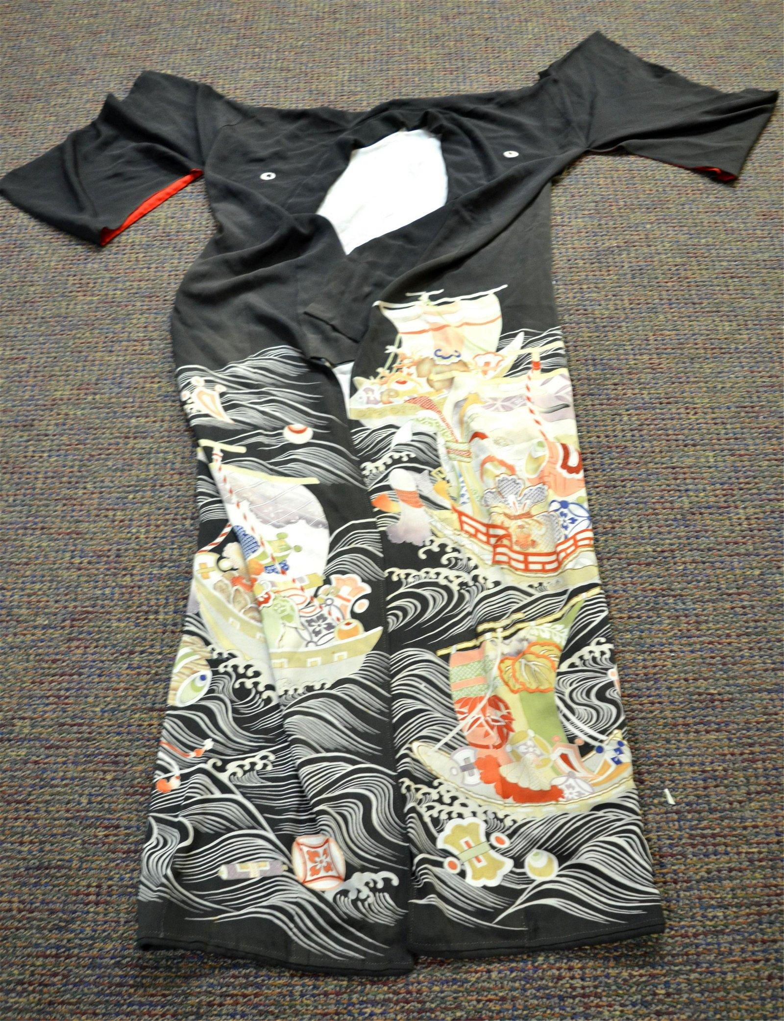 Japanese Silk Lady Kimono