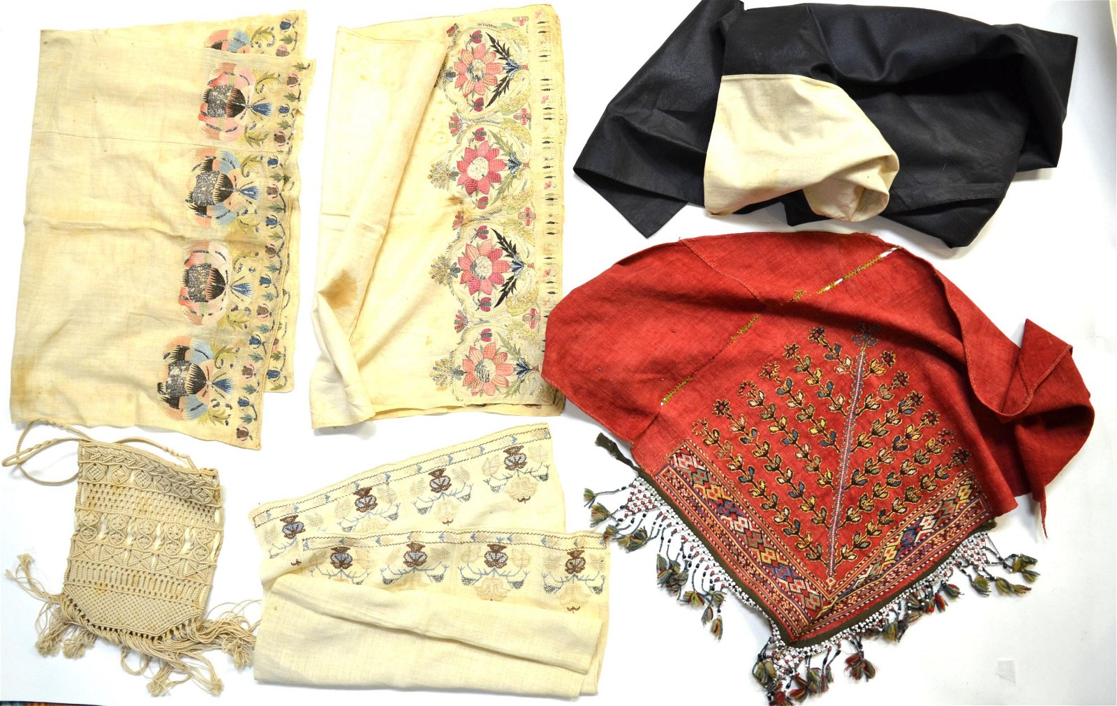 Six Pcs of Textiles