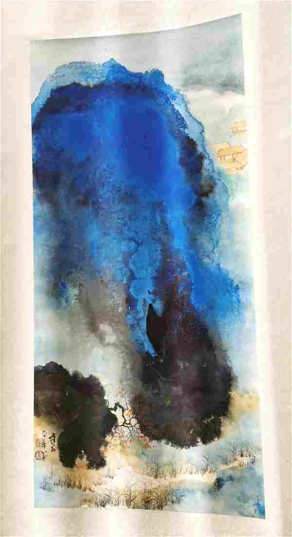Attributed to Zhang Daqian Painting