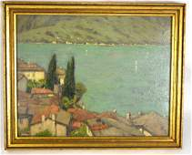 Charles Warren Eaton (American, 1857-1937) On Lake